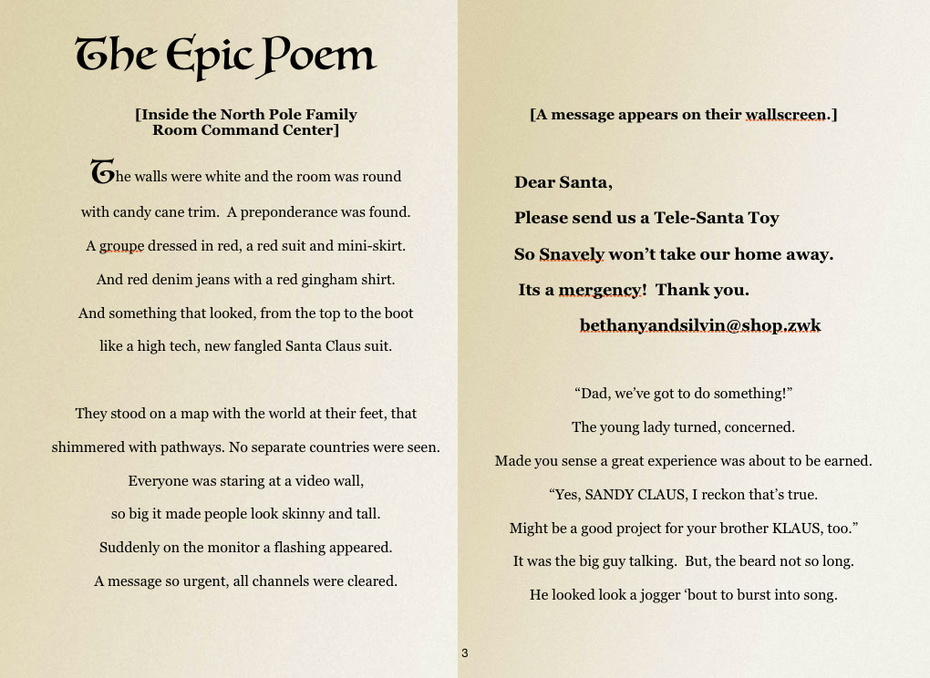 what is a mock epic poem