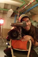 2nd Camera - Chris Norris - at home with the Elves.