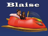 Sandy Claus and brother Klaus flying in Blaise, her talking Anti-gravity Sleigh. :26 3.3MB
