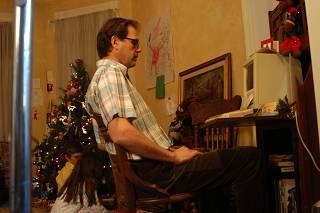 Zwerkin at the computer.