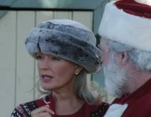 Sara and Santa.